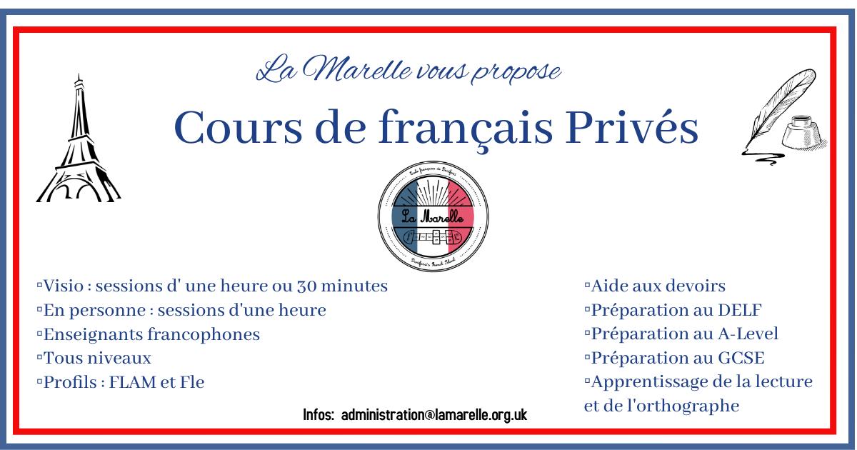 Cours de Francais Prives